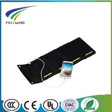 new design 5w solar panel charger bag