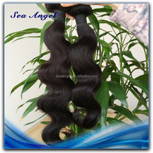 100% Human Hair No Synthetic Body Wave 100% Human Peruvian Virgin Hair
