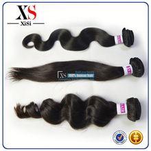 Top grade virgin brazilian virgin hair body wave 6 pcs long hair carpet