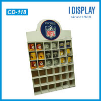 unique retail paper diy cup display rack for promotion