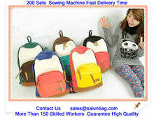 New Design Fashion Leisure Travel school bag new boy with handle and shoulder strap