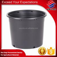 black plastic gallon nursery flower pot for sale