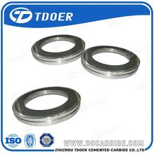 tungsten carbide smooth surface roller for forming steel wire