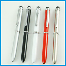 2014 assorted promotional metal smart 3 in 1 screen touch touch screen pen touch