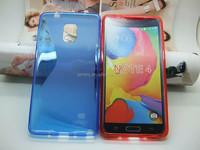 High Quality S Line TPU Silicone Gel Skin Case for Samsung Galaxy Note 4 N9100