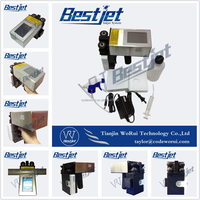 screen printing machine for black ink alphabet stamping on pipe bags