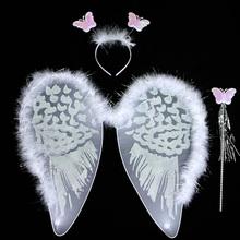 venta al por mayor de la mariposa ala de ángel tutu y los niños para la decoración del partido