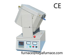 high temperature tilting crucible furnace for gold,platinum,silver,copper,iron,stainless steel,aluminum alloy,al