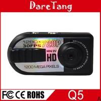 Factory Direct Webcam Coin Size thumb DV Mini Camera Q5