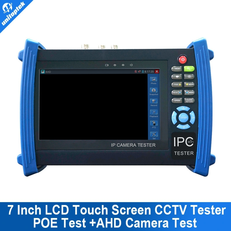 7 Inch Touch Screen Cctv Security Camera Tester Monitor Ip ...