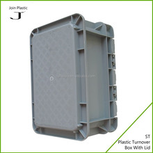 Reuseable plastic A4 file storage box with lid