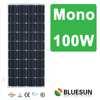 Hefei Bluesun superb panel solar monocrystalline 100w with TUV UL CE certificate