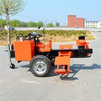 gasoline Hot selling 20-30tons smart wood log cutter and splitter for sale