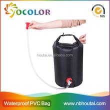 2015 New Design with valve waterproof Dry Bag, outdoor shower bag