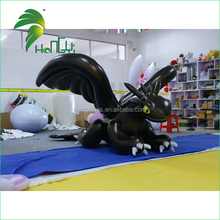 Inflatable Dragon Cartoon With High Quality UV Printing