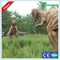 أخذ الصور مع الزائر روبوت الديناصورات