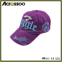 Good Quality 2014 Collection Children Cotton Twill 6 Panels 3D Embroidered Baseball Cap