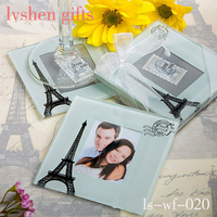 Wedding Favors Photo Frame Glass Coaster Gifts
