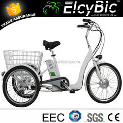 Chinese hot selling 3 wheel electric tricycle with high speed motor(E-TDR05C)