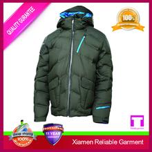 Span children's winter down jacket with hood
