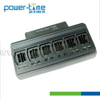 two-way radio multi-way batteries chargers with 12-Unit for 12 units MTP850 battery