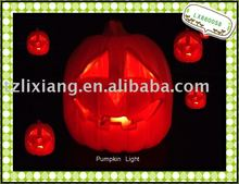 Halloween decorations Light, Ornament Gifts , plastic pumpkin with light
