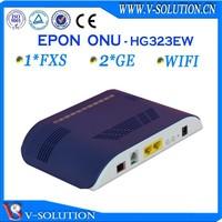 epon 1fxs + 2ge wirelss onu optical ftth 3g modem router
