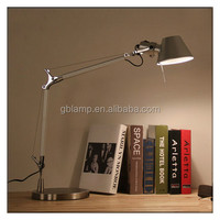 Cheap nice table lamp, study table lamp, metal table lamp