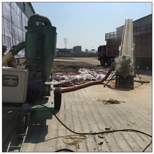 High efficiency load corn / chips from truck to silo 30 t/h chips pneumatic conveyor