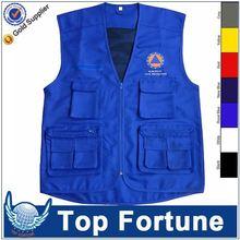 Customized Wholesale cotton photographer vest