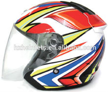 New model open face helmet with sun shield