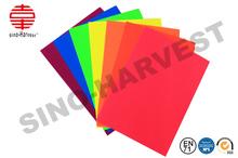 Fluorescente papel corrugado