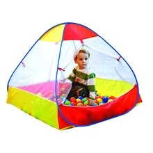 CHILDREN PLAY TENT WITH BALL ACTIVITY BALLS TENT -POP UP