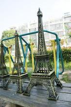 France Souvenir eiffel tower Figurine Statue Antique Home Decors Vintage