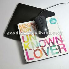 Factory mass produce any style eva/pp mouse pad/mouse mat