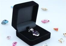 Wholesale Fashionable Popular Velvet Jewelry Packing Box