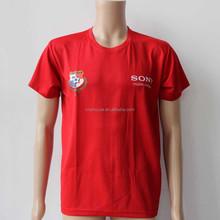 China manufacturer wholesale custom printed men V neck and round neck t shirt