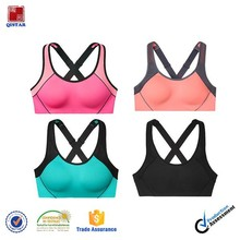 2015 Factory wholesale high quality Fitness&yoga wear sport top