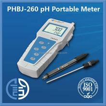 PHBJ-260 Portable digital pH Meter pH /mV(ORP)/Temp ph meter price