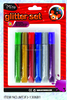 Non-toxic best selling school supply stationery glitter glue