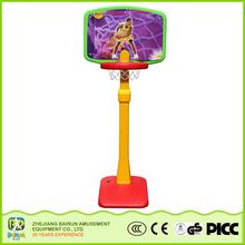 Bairun Seller Factory Kids Toy Outdoor Sports Plastic Backboard Basketball Equipment Mini Basketball Hoop