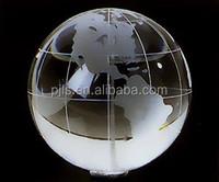 30mm crystal globe paperweight 10PCS moq