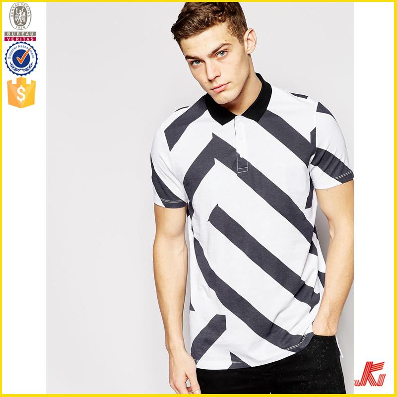 Mens Polo Collar Striped T Shirt Wholesale Buy Polo