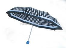 New style ladies 3 fold umbrella