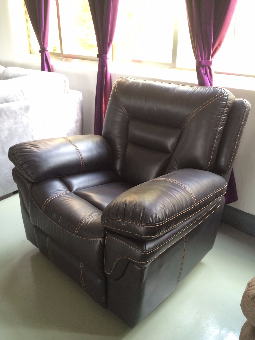 Alibaba China Furniture Recliner Arm Sofa Protective Sofa