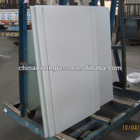 White interlayer laminated glass