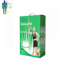 two motor massge belly fat burning belt,slimming massage belt