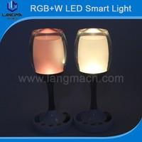 Colorful warm home light 2w 3.7v safe battery night light