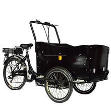 Electric cargo bike/Denish cargo bicycle/ tricycle cargo bike frame/cargo tricycle bike