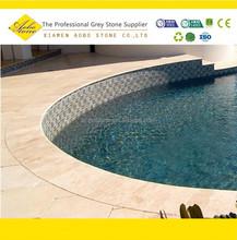 Best choice full bullnose coping edge pool in granite
